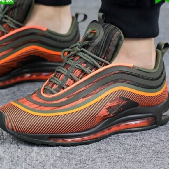Tech Talk :: Nike Air Max 97 Ultra 17 Total Orange/Sequoia